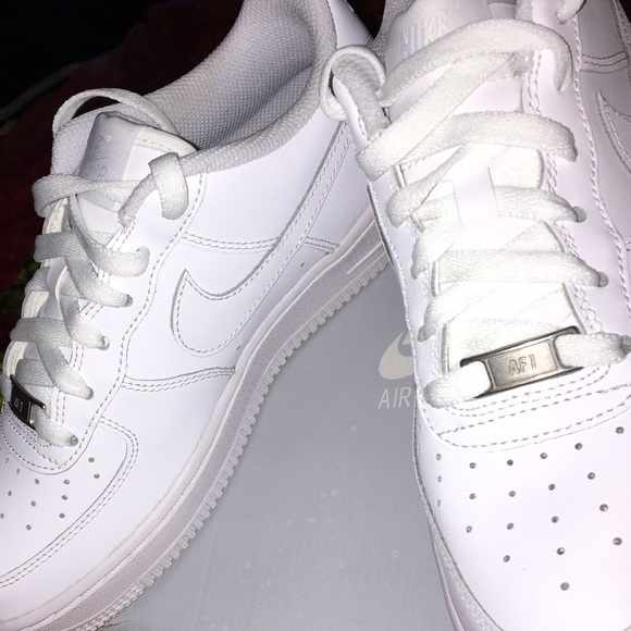 Brand new white nike Low Air Force Ones